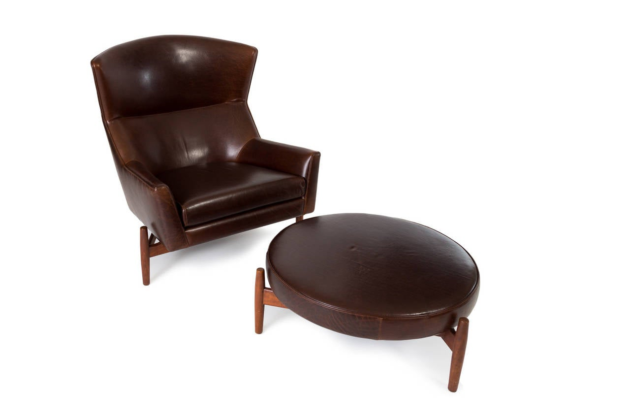 this jens risom lounge chair and ottoman is no longer available