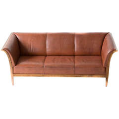 Frits Henningsen Sofa, Original Condition, 1940s