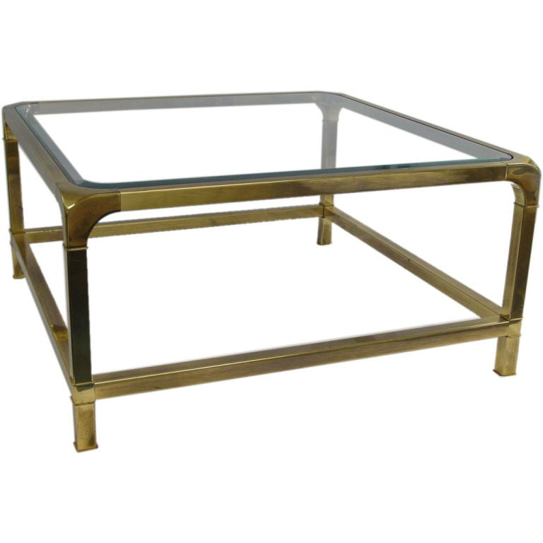Elegant Coffee Table By Mastercraft At 1stdibs