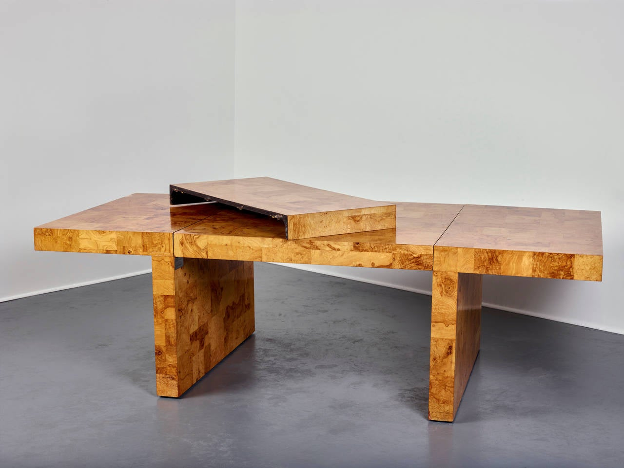 Late 20th Century Paul Evans Dining Table for Directional, Olive Ash Burl, 1970s For Sale