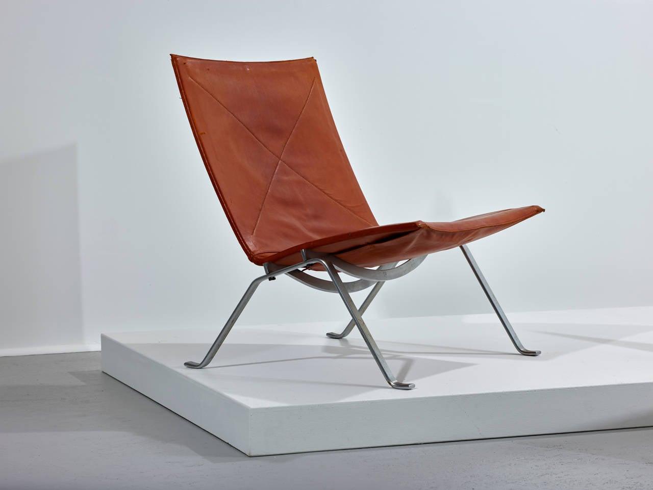 Poul Kjaerholm PK 22 Chairs for E. Kold Christensen, Original Condition 1956 4
