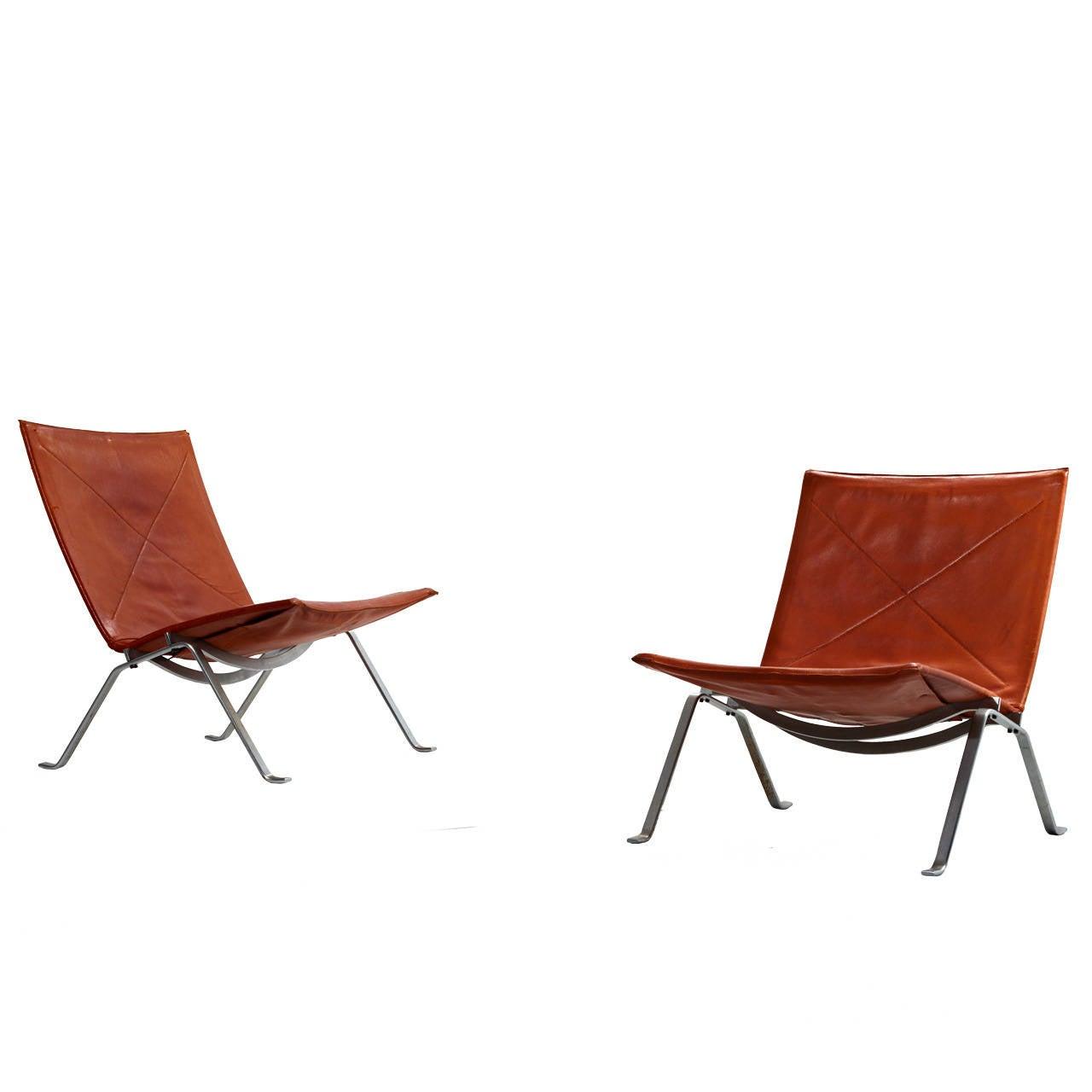 Poul Kjaerholm Pk 22 Chairs For E Kold Christensen