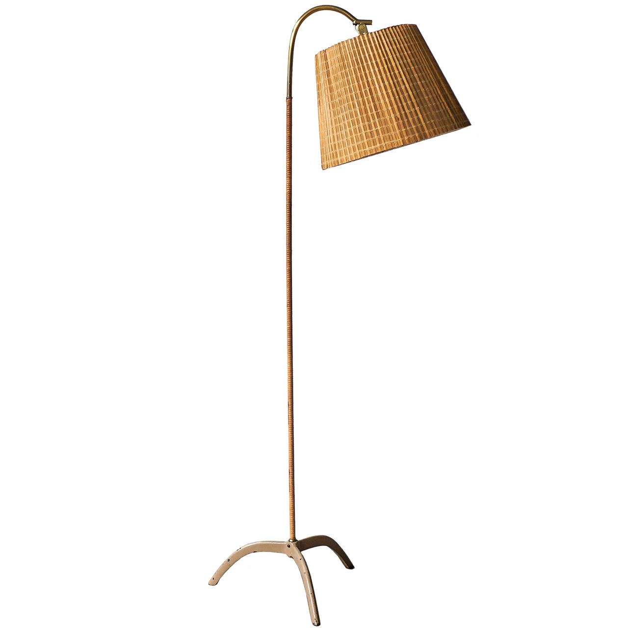 Paavo Tynell Floor Lamp, Model 9609, Taito Oy, 1940s