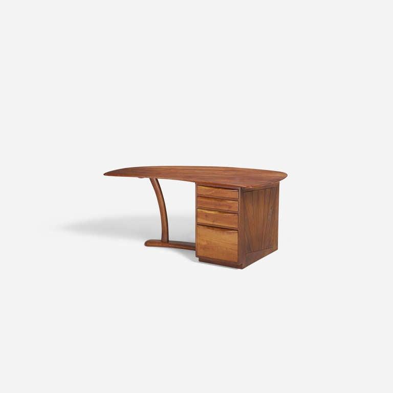 American Wharton Esherick Desk, circa 1970 For Sale
