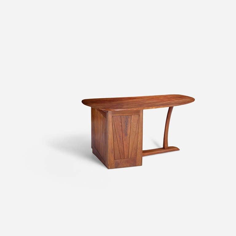 Late 20th Century Wharton Esherick Desk, circa 1970 For Sale