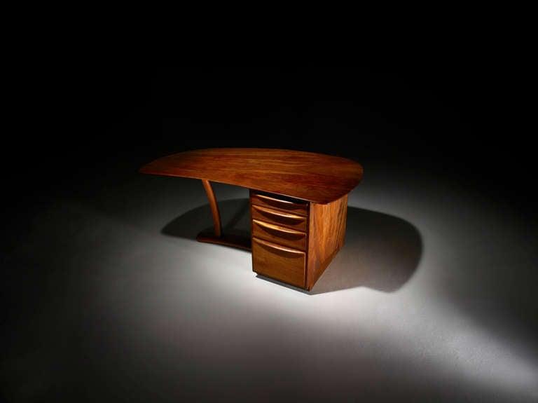 Mid-Century Modern Wharton Esherick Desk, circa 1970 For Sale