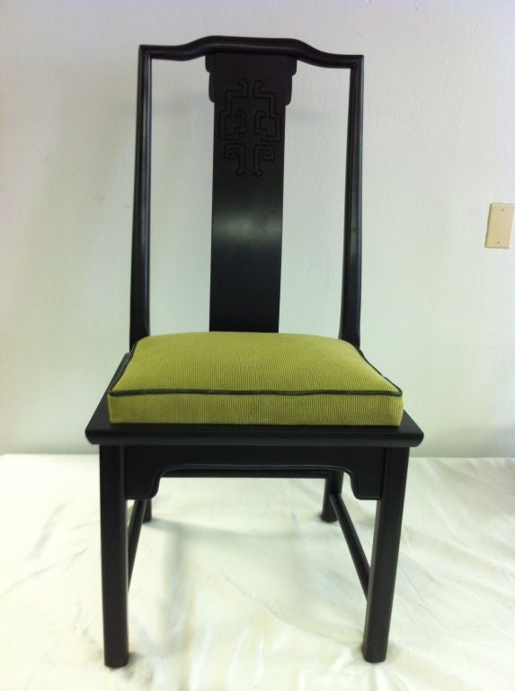 Eight Asian Modern Quot Chin Hua Quot Dining Chairs At 1stdibs