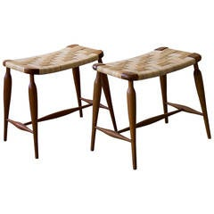 Josef Frank Pair of Stools