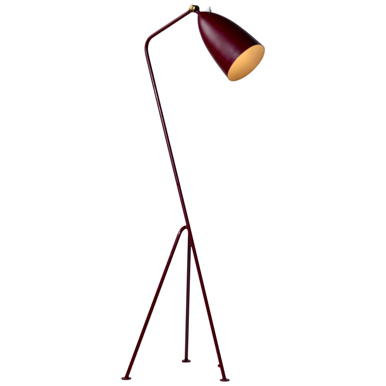 greta magnusson grossman grasshopper floor lamp by bergboms malm model 831 at 1stdibs. Black Bedroom Furniture Sets. Home Design Ideas