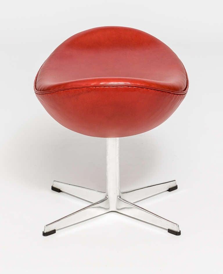 arne jacobsen fritz hansen egg footstools at 1stdibs. Black Bedroom Furniture Sets. Home Design Ideas