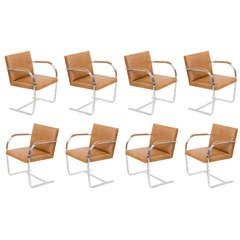 BRNO Chairs by Mies Van Der Rohe Knoll (10 available)