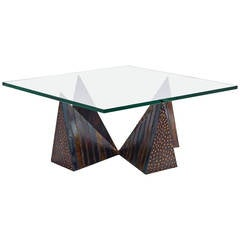 Paul Evans Pyramid Cocktail or Coffee Table, PE 14 - 42, 1973