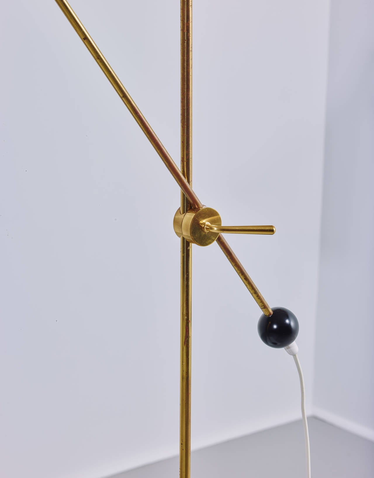 Enameled Tapio Wirkkala Floor Lamp, Model K10-11, 1958