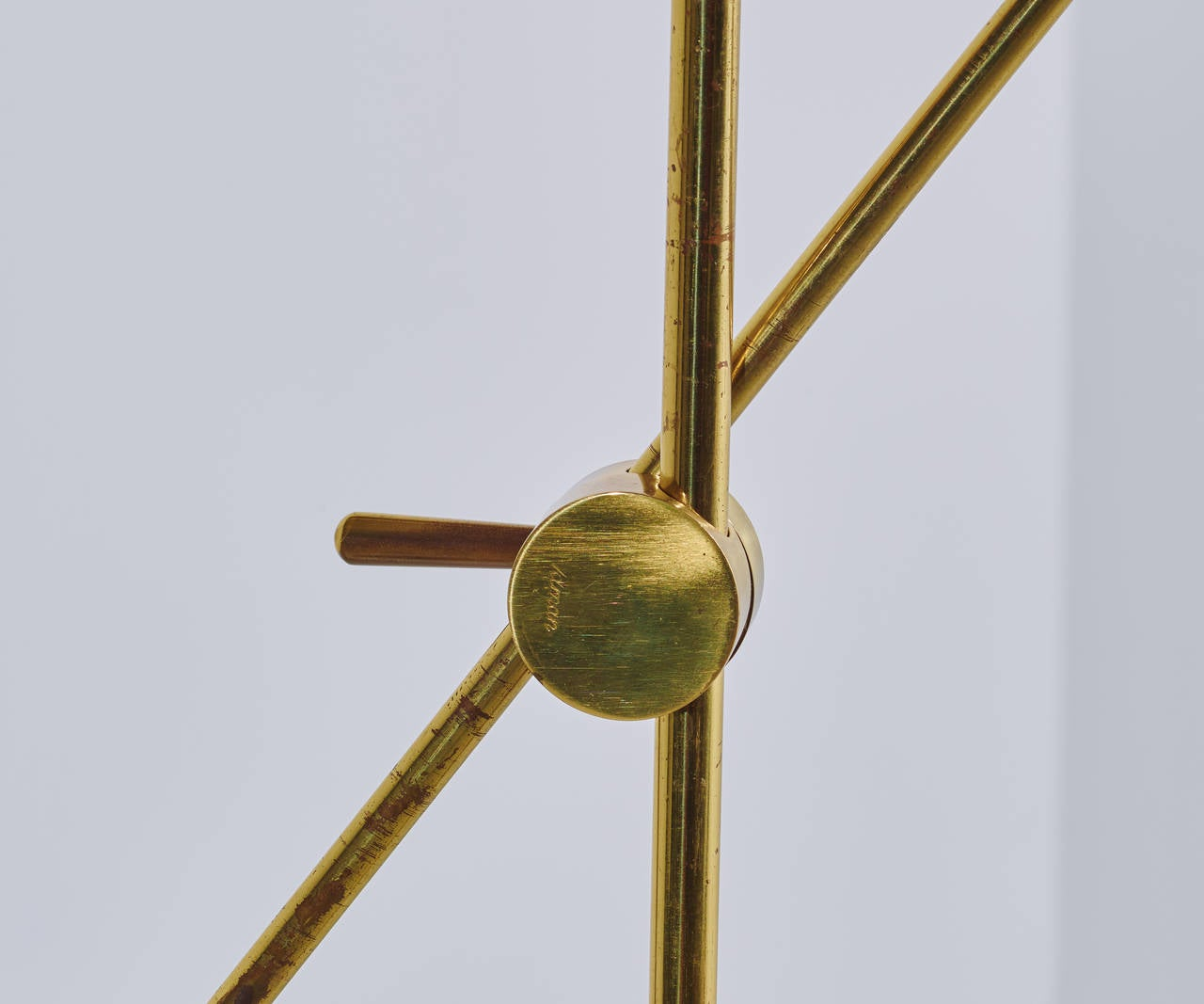 Mid-20th Century Tapio Wirkkala Floor Lamp, Model K10-11, 1958