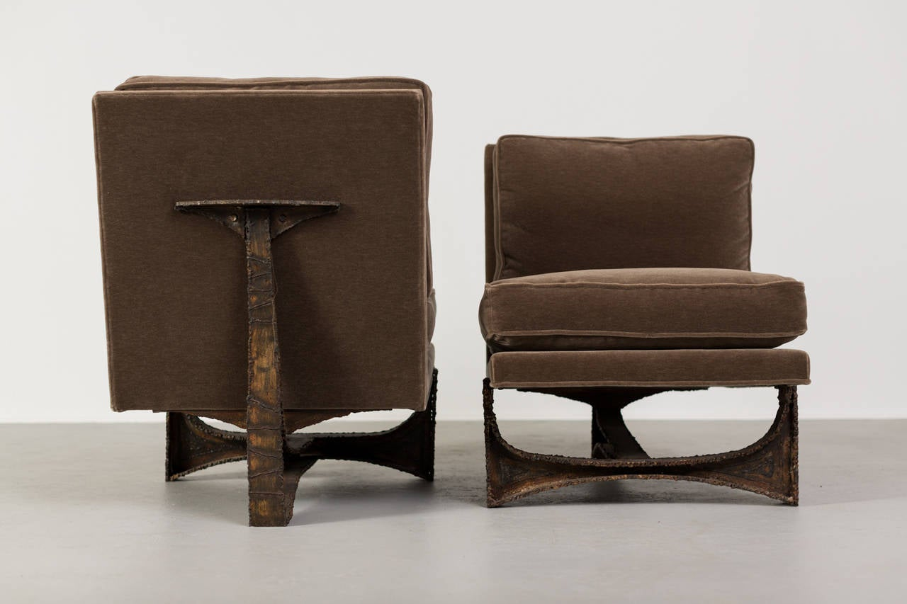 Paul Evans Studio Chairs Pair at 1stdibs