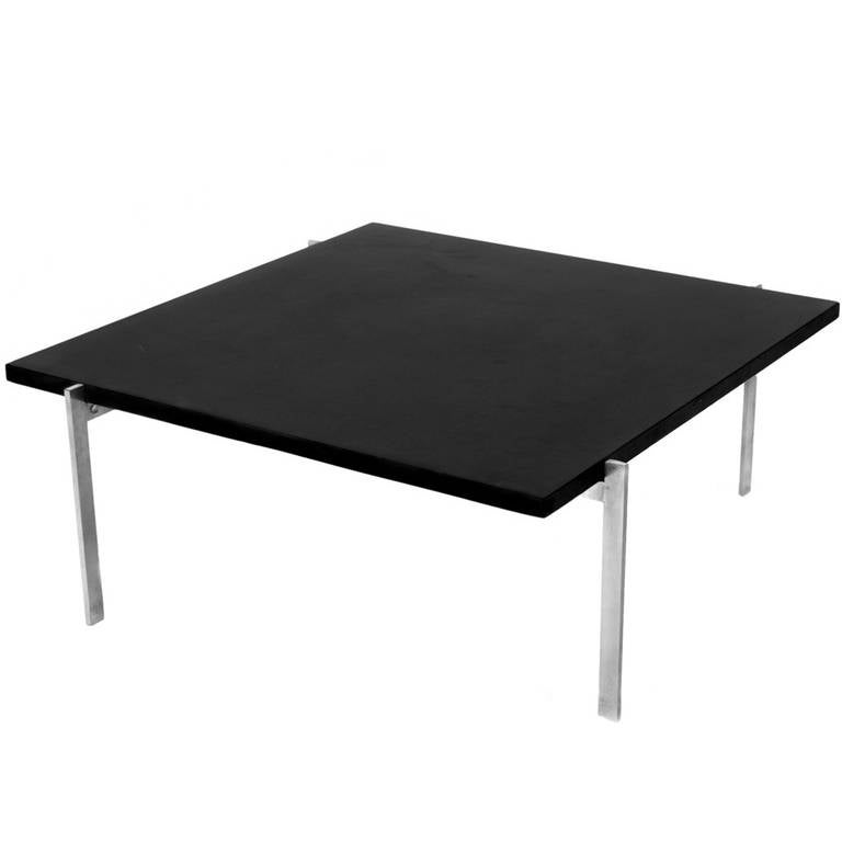 1950s Poul Kjærholm PK 61 Coffee Table for E. Kold Christensen, 1956