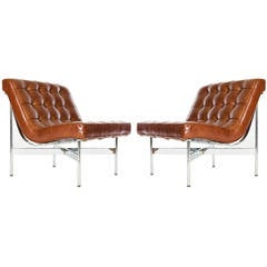 Pair of Katavolos, Littell and Kelley Lounge Chairs for Laverne International