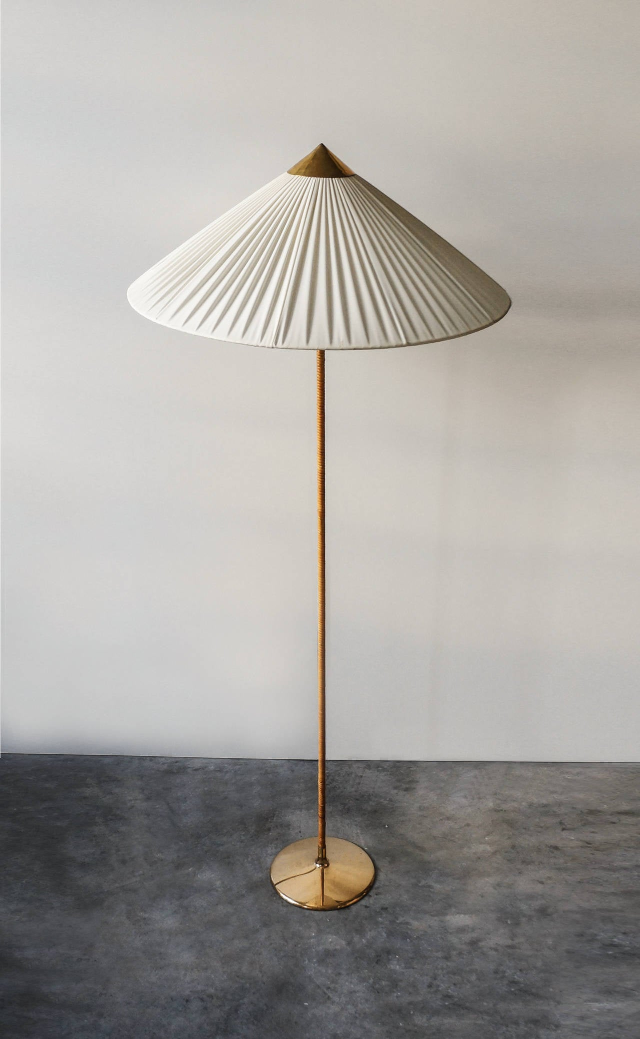 Finnish Paavo Tynell Floor Lamp, Model 9602, 1940s