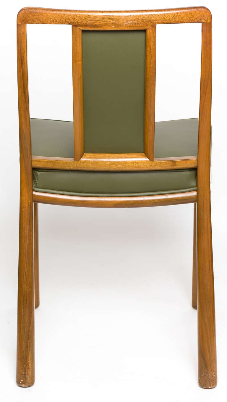 Dining Chairs by Edward Wormley for Dunbar, Set of Six, 1950s For Sale 2