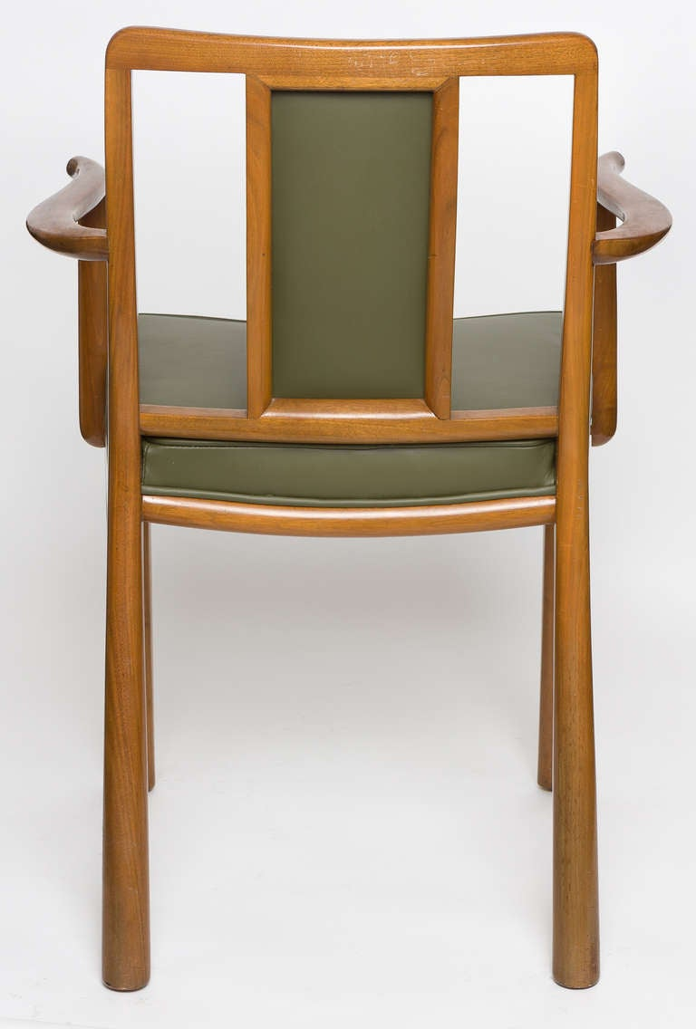 American Dining Chairs by Edward Wormley for Dunbar, Set of Six, 1950s For Sale