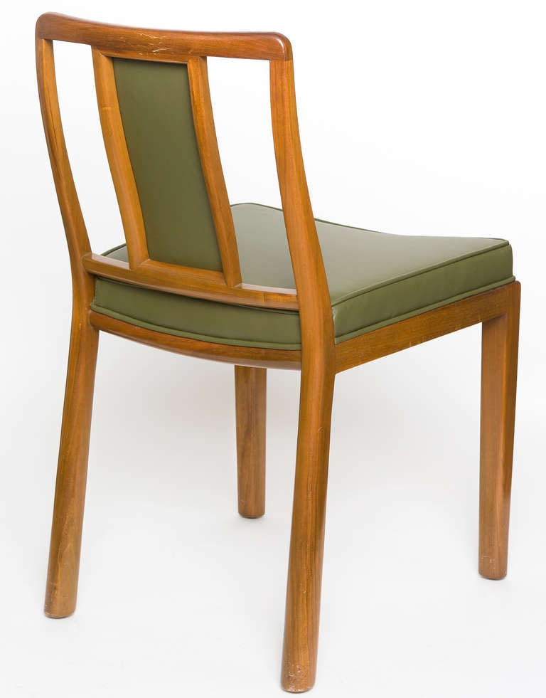 Dining Chairs by Edward Wormley for Dunbar, Set of Six, 1950s For Sale 3