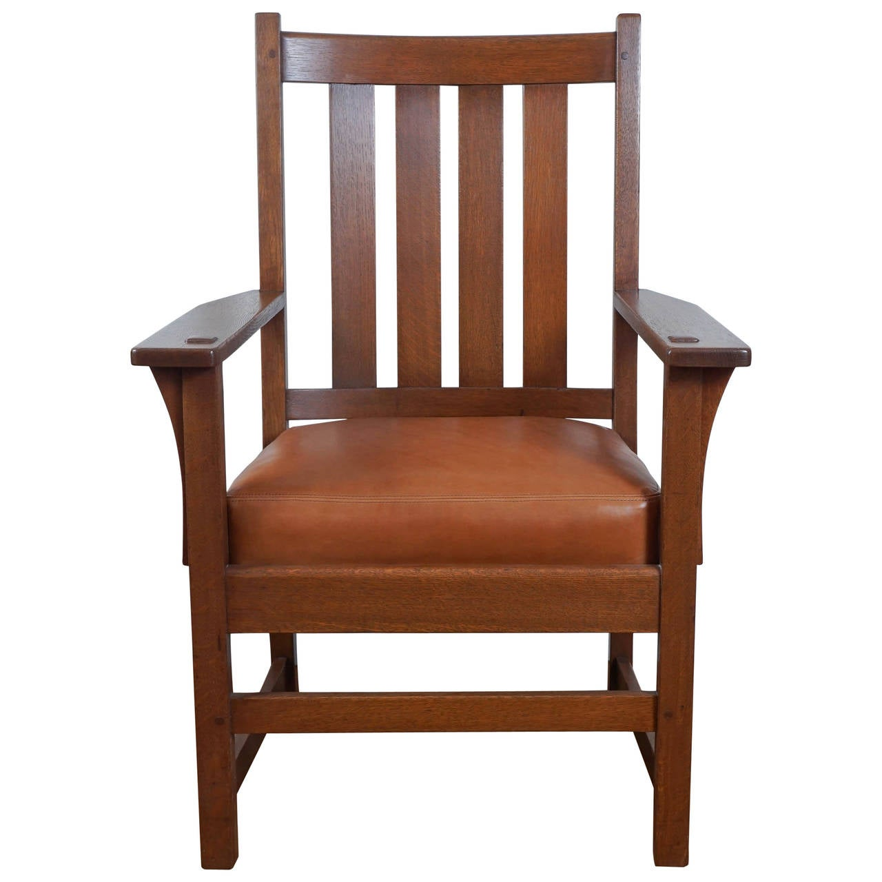 Superbe Stickley Armchair For Sale