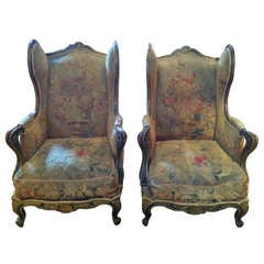 Important Pair of 19th Century Ceylon Chairs
