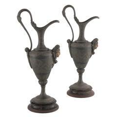 Antique Metal Ewers