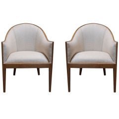 Pair of Edward Wormley Armchairs