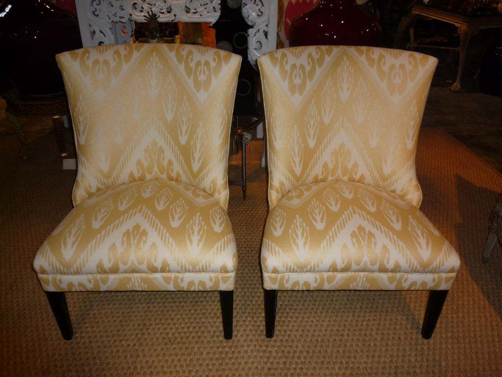 this pair of 1940 39 s custom salon chairs is no longer available