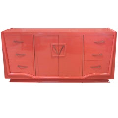 1940's Lacquered Buffet