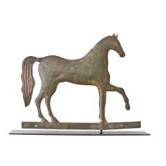 Early A. L.  Jewell Prancing Horse Weathervane