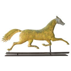 Early A.L. Jewell Running Horse Weathervane