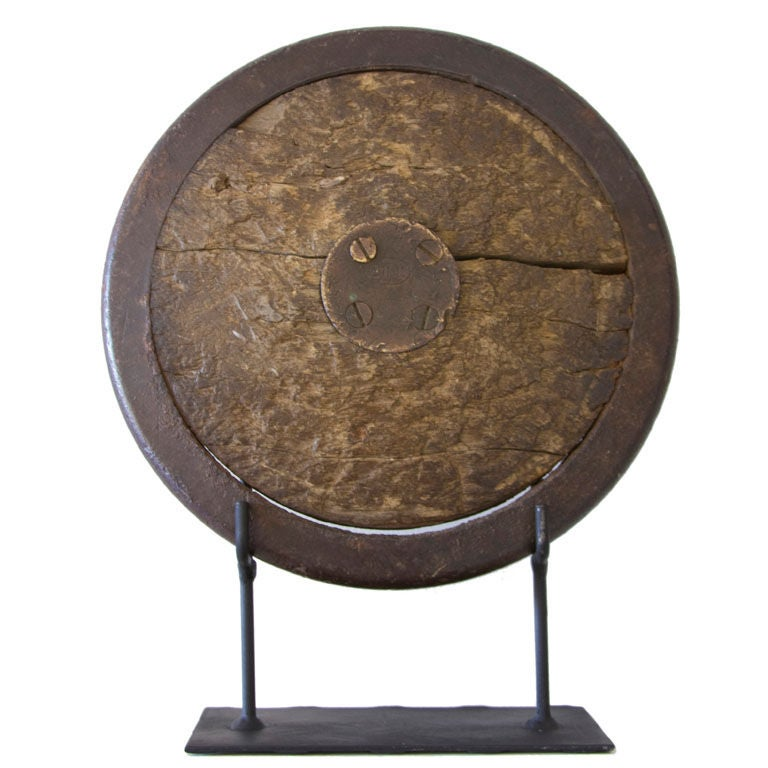 Vintage Gill Discus On Museum Mount At 1stdibs