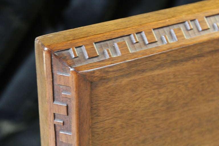Headboard By Frank Lloyd Wright For Henredon At 1stdibs