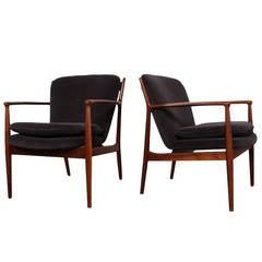 Pair of Delegate Chairs by Finn Juhl