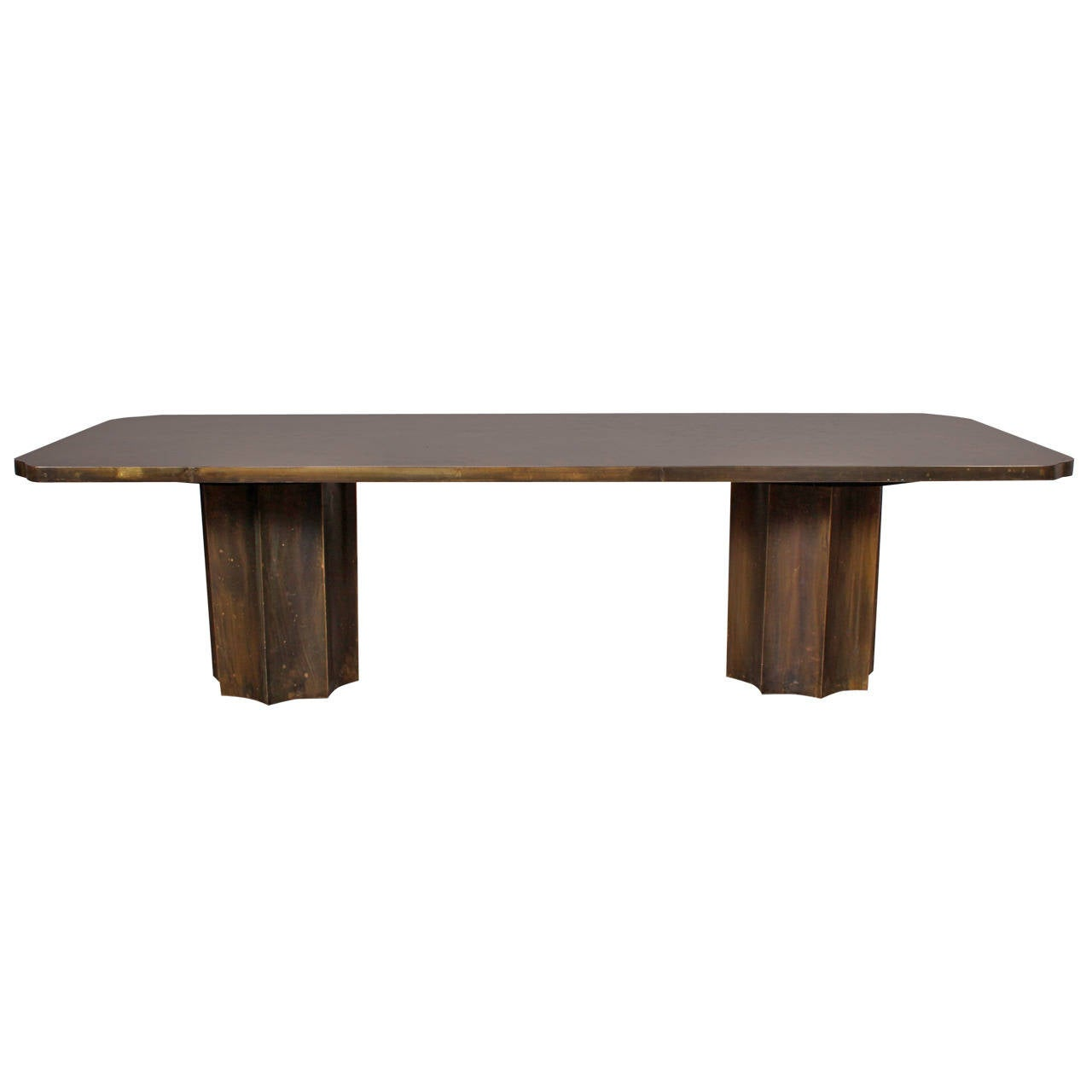 Philip and kelvin laverne michelangelo bronze coffee table at 1stdibs Bronze coffee tables