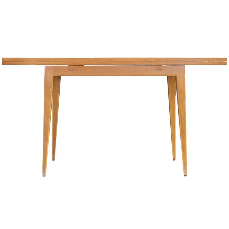 Flip Top Console Table By Edward Wormley For Dunbar At 1stdibs