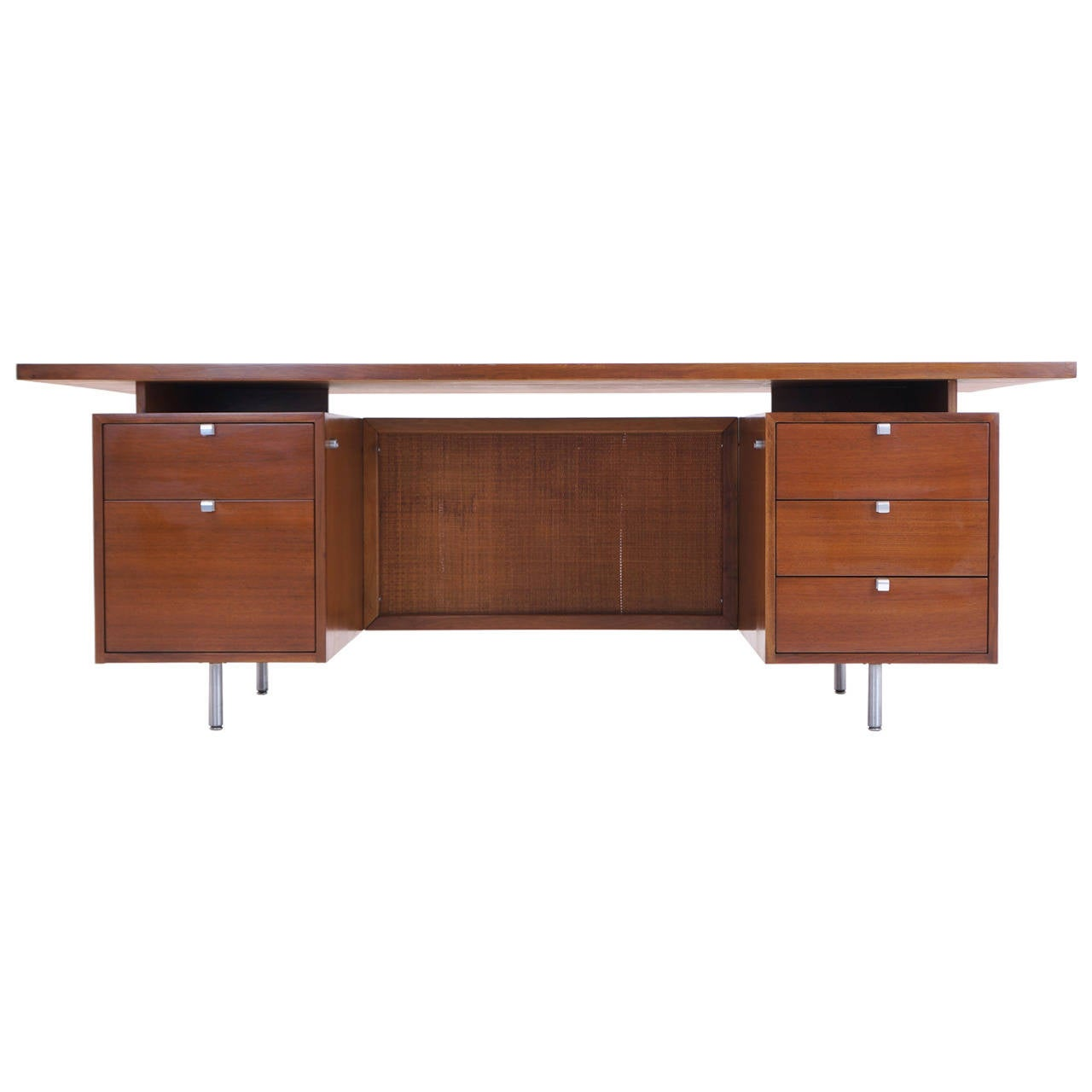 Executive Desk by George Nelson for Herman Miller at 1stdibs