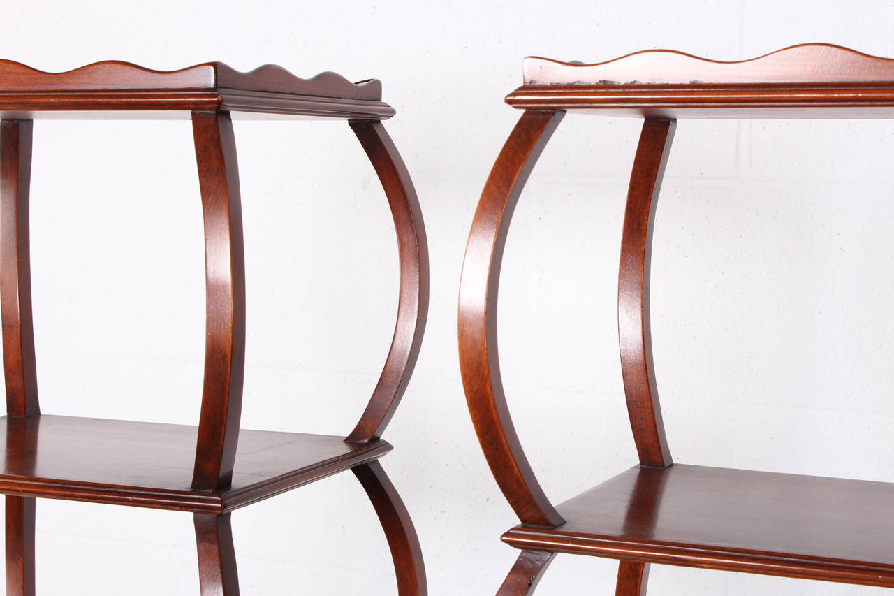 Early Pair of Étagères by Edward Wormley for Dunbar For Sale 3