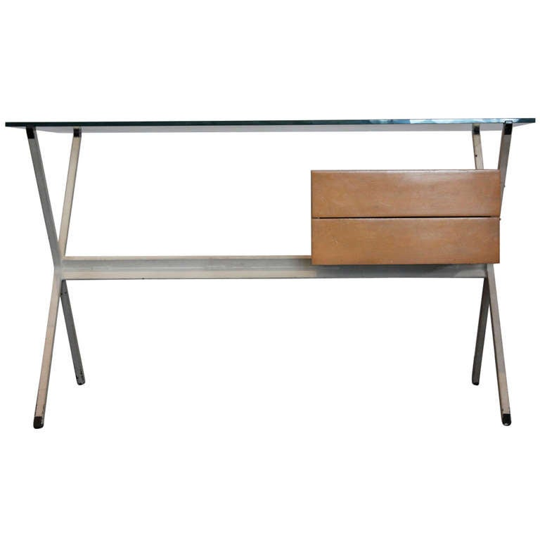 Early Franco Albini for Knoll Desk