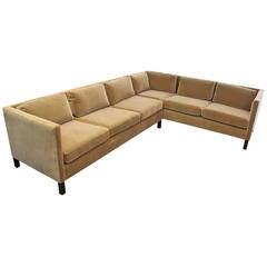 Sectional Sofa by Edward Wormley for Dunbar