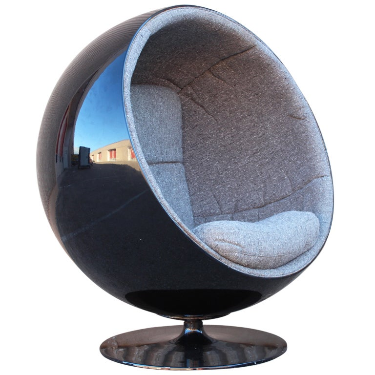 ball chair by eero aarnio at 1stdibs. Black Bedroom Furniture Sets. Home Design Ideas