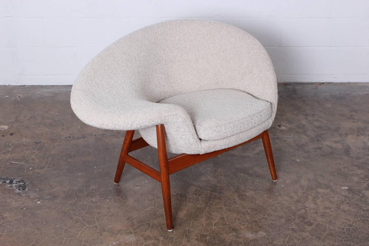 fried egg chair by hans olsen at 1stdibs. Black Bedroom Furniture Sets. Home Design Ideas