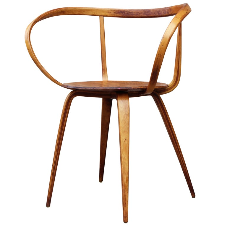 The Pretzel Chair By George Nelson At 1stdibs