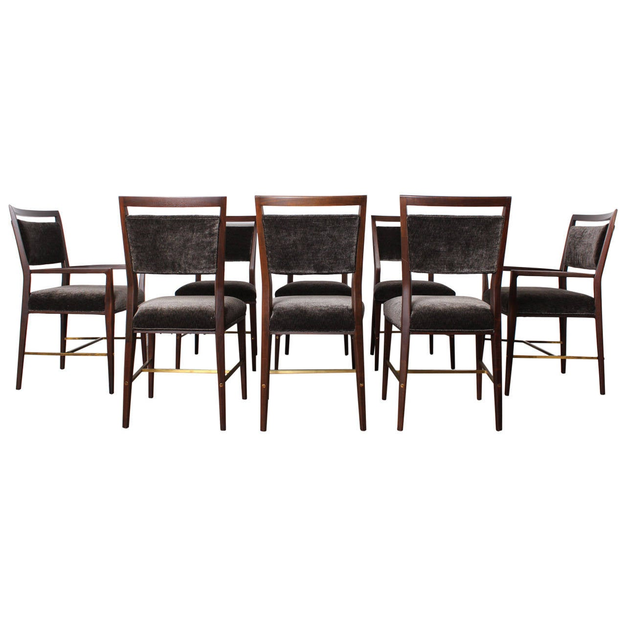 set of eight dining chairs by paul mccobb at 1stdibs