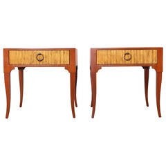 Pair of End Tables by Baker
