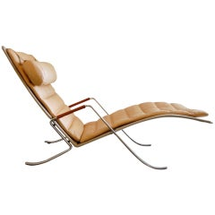 Fabricius and Kastholm Grasshopper Chaise Lounge