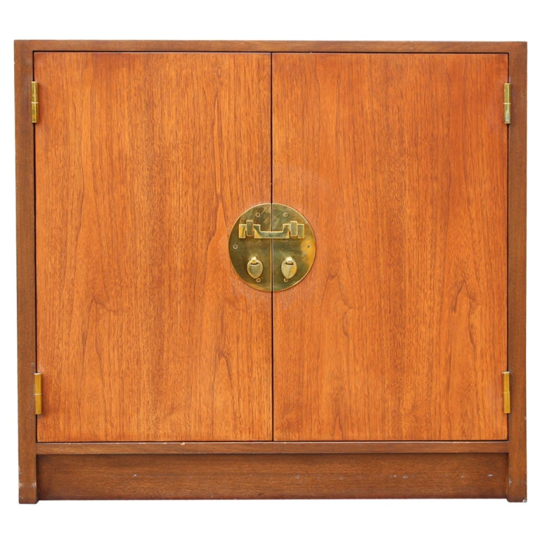 Walnut Cabinet by Edward Wormley for Dunbar
