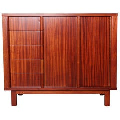 Mahogany Chest by Edward Wormley for Dunbar